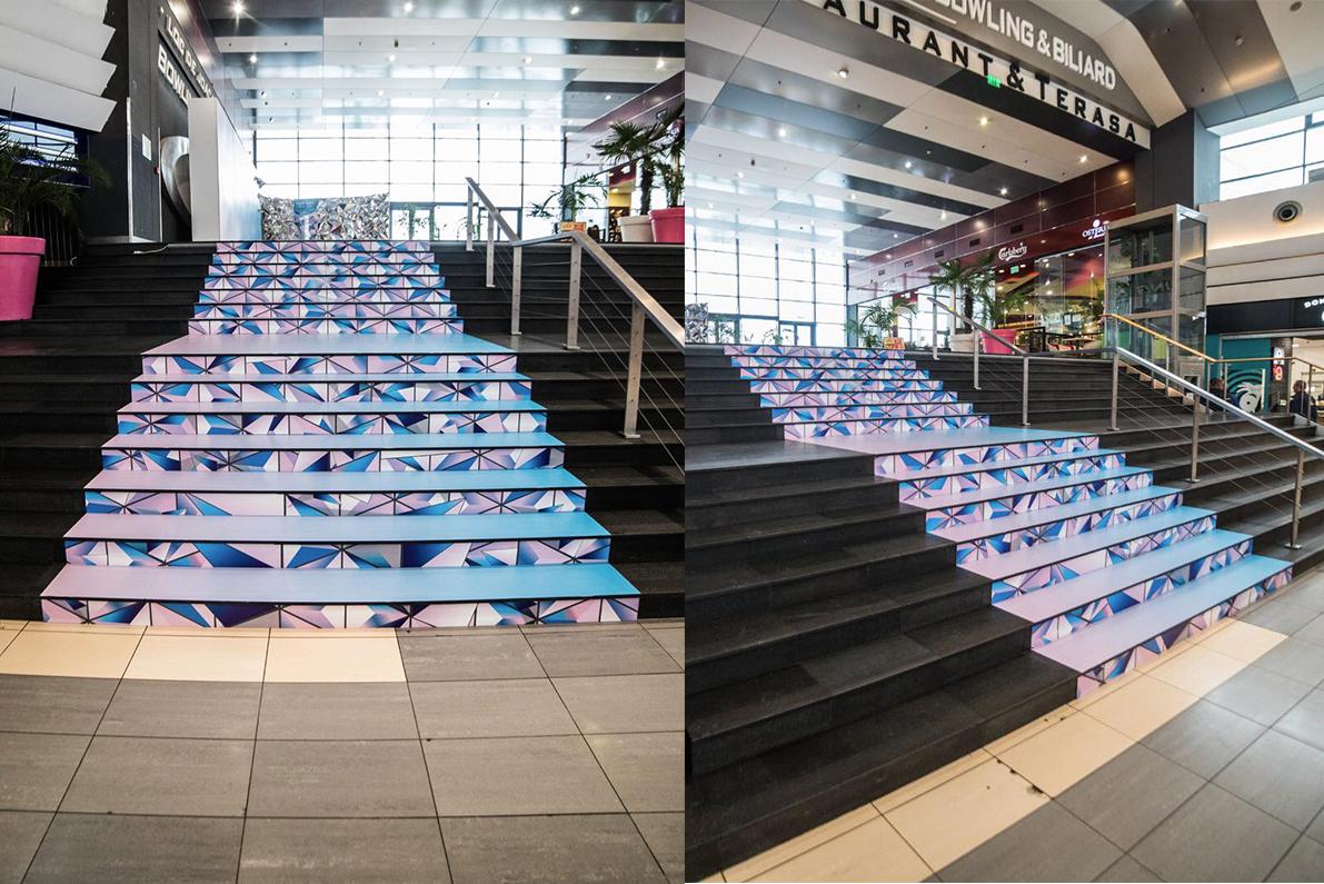 Sun Plaza 3d Stairs Carpet
