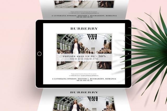 Burberry Newsletter