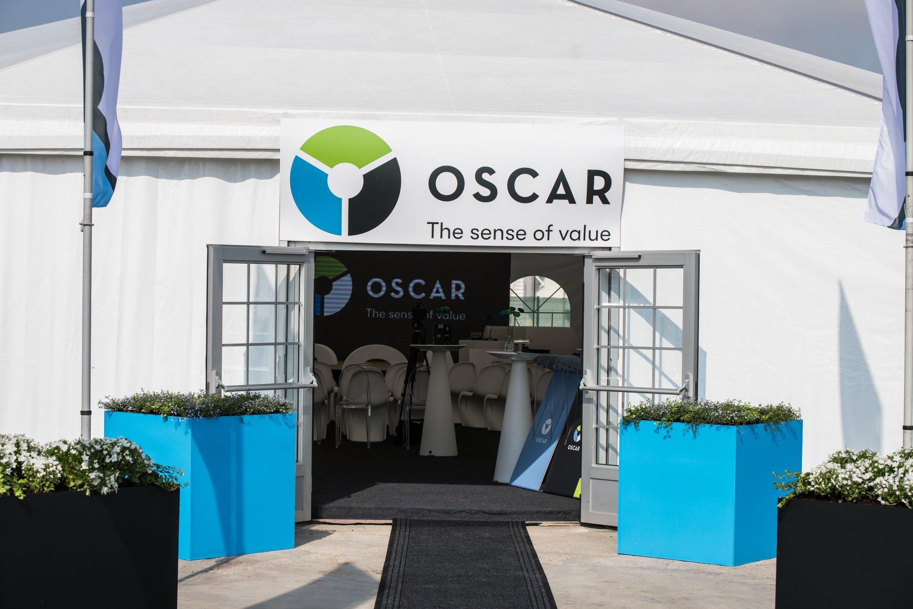 Oscar Event Outdoor Set-up