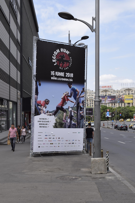 Legion Run Billboard