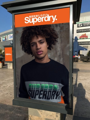 Superdry Print Ad