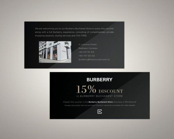 Burberry Print Voucher