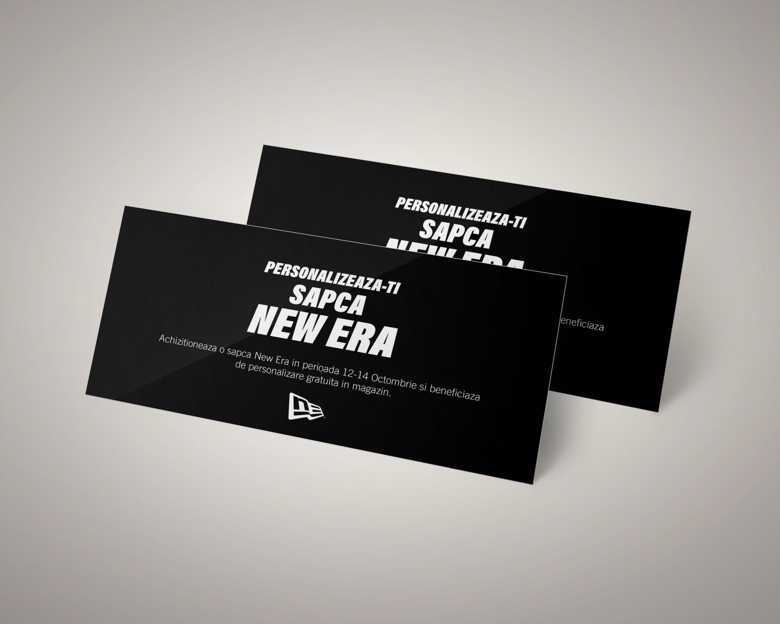 New Era Print Invitation