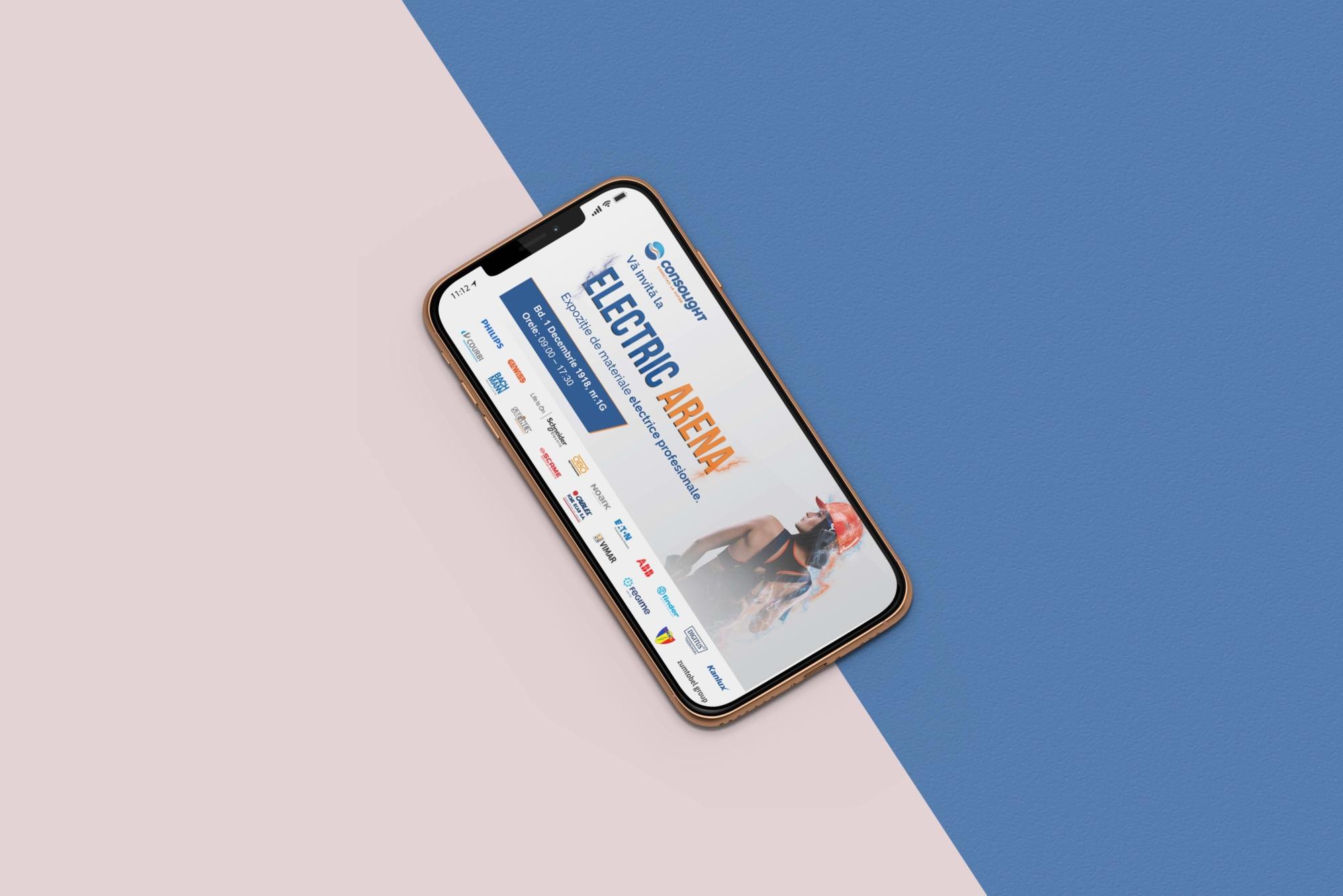 Consolight Web Banner